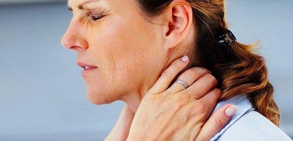 Боль при остеохондрозе в шейном отделе