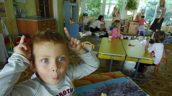 Шизофреник в детском саду