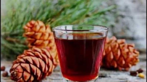 Винный напиток из шишек